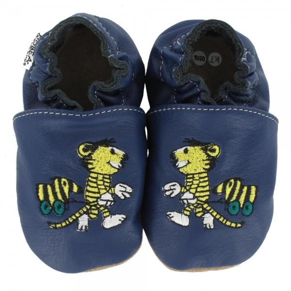 Kinderschuhe Janosch Tiger Tigerente blau