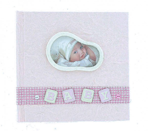 Fotoalbum Baby rosa