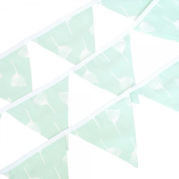 Wimpelkette Pusteblume pastellgrün