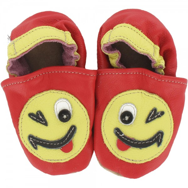 Kinderschuhe Smiley