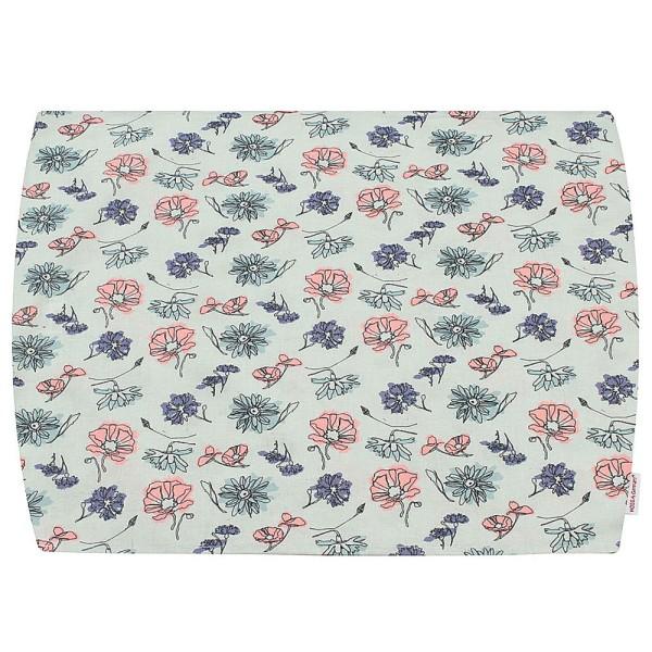 Baby Lagerungsbezug Flower pastell