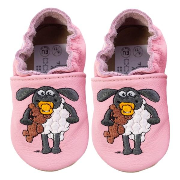 Kinderschuhe Shaun das Schaf Timmy rosa
